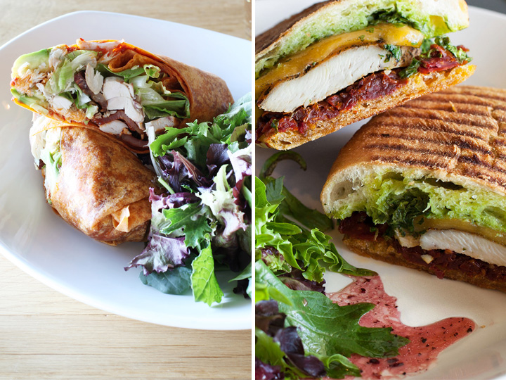 Photo of a sandwiches from Blackburn's Farm to Table